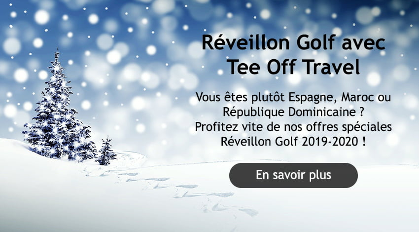Réveillon Golf Tee Off Travel